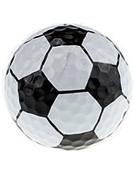 crestgolf diseño con forma de fútbol deportes pelota de golf, surtidos, 6 unidades