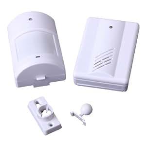 Moniteur infrarouge sans fil sonnette d'alarme carillon d'entrée