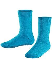 FALKE Kinder Stoppersocken Catspads - Baumwoll-/Merinowollmischung, 1 Paar, Versch. Farben, Größe 19-42 - Wärmender Stopppersocken mit Silikondruck und innenliegendem Plüsch