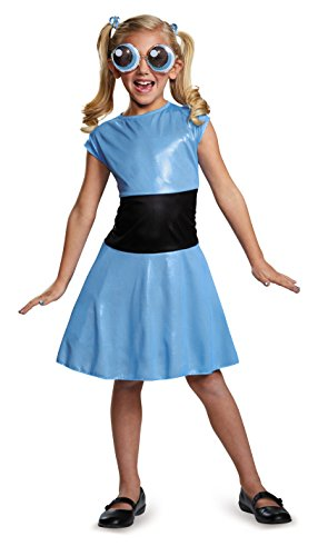 Disguise Bubbles Classic Powerpuff Girls Cartoon Network Costume, Small/4-6X by - Powerpuff Girls Kostüm Kinder