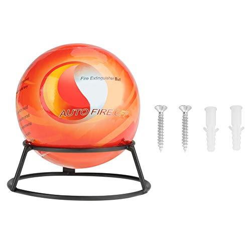 Automatischer Feuerlöscher ball mit Wandhalterung Aufgehängtes Anti Feuer Ball Verlust Werkzeug Feste Position durch automatischen Brandmelder und/oder Einwurf in den Brandbereich (0,5 Orange)