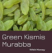 Cactus Homemade Green Kishmish (Raisins) with Honey and Saffron 425g