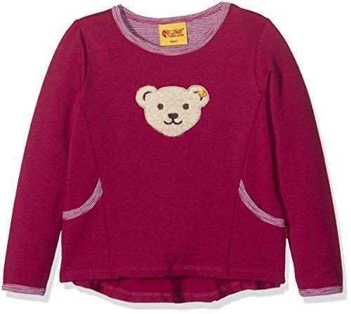 Steiff Mädchen Sweatshirt 1/1 Arm, Rosa (Vivacious 2173), 74