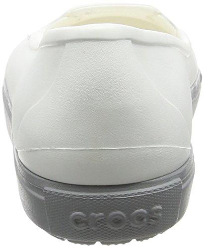 Crocs Citilaneflatw, Ballerines Femme Blanc (White)