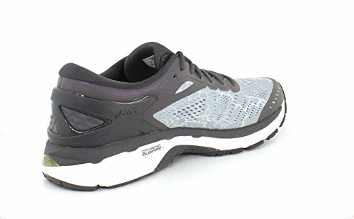 Asics Chaussures Gel-Kayano® 24 Lite-Show Pour Homme Mid Grey/Dark Grey/Safety Yellow