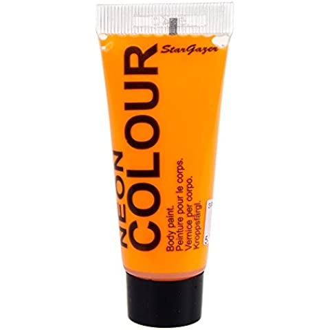 Pintura UV efectos especiales para cara y cuerpo de Stargazer 12ml (Naranja)