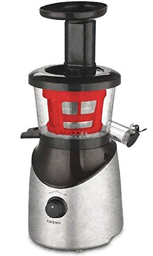 Beper 90.421r–Extractor de zumo 55Revoluciones Slow Juicer Filtro de acero