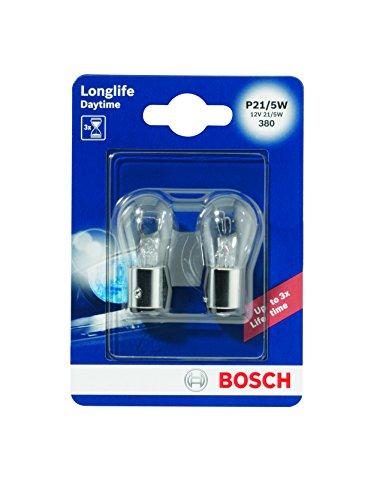 Bosch-1987301055-Autolampe-P215W-LONGLIFE-Stopp-Blinklicht-Schluss-Kennzeichenlampe