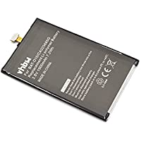 vhbw Li-Polymer batería 1900mAh (3.8V) para teléfono móvil smartphone Acer Liquid Jade Z, Jade S57 y BAT-D10, CA325685G, KT.0010B-009.