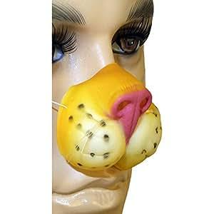 Nez de tigre en masque (Masque truffe d'animal)