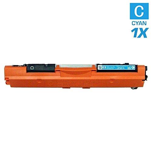 Ad alte prestazioni Toner con 35% più Prestazioni di stampa dopo (ISO–standard 19798), sostituisce Canon 729C/4369B002Cyan per Canon I-Sensys Canon LBP 7010C, Canon i-SENSYS LBP 7018C