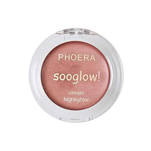 Luckhome Farben Schimmer Matt Mineral Pigment Lidschatten Palette Nude Beauty Make up (E)
