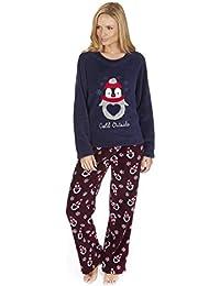 Mujer Forever Dreaming Estrella o Pingüino Pijama tops y pantalones