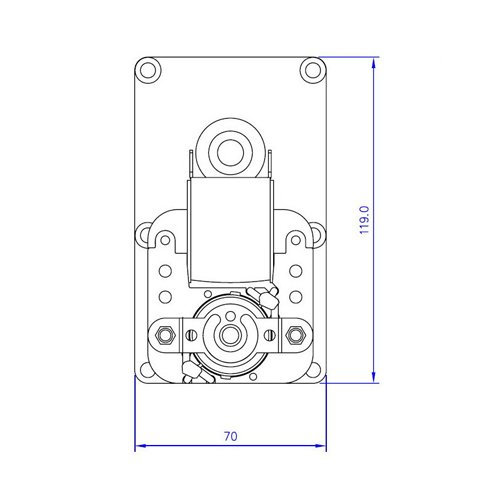 Zoom IMG-3 motoriduttore per stufa a pellet