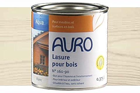 Lasure Blanc Bois Exterieur - Lasure pour bois colorée Blanc, Aqua Auro