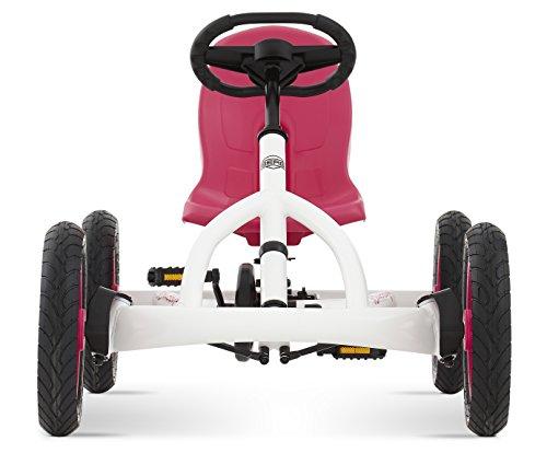 Imagen 5 de Berg Toys BERG Buddy White 24.20.61.01, Quad infantil, 3 a 8 años, color rosa, blanco y negro
