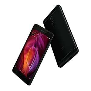 "Xiaomi Redmi Note 4 - Free Smartphone OF 5.5"" (4G, WiFi, Bluetooth, Snapdragon 625 2.0 GHz, 64 GB de ROM Ampliable, 4 GB RAM, Camera of 13 MP, MIUI Android, Dual-SIM), Negro [Spanish version]"