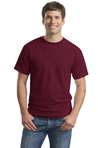 Gildan 2000Ultra T-Shirt Gr. XX-Large, Braun - Heather Cardinal (Ringer Jerzees Tee)