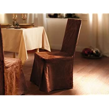 Amazon.de: Hochwertige Stuhlhusse in Wildleder - Optik