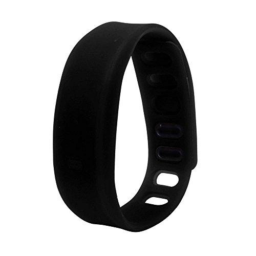 jieGREAT Räumungsverkauf  , Womens Mens Rubber LED Uhr Datum Sport Armband Digital Armbanduhr BK
