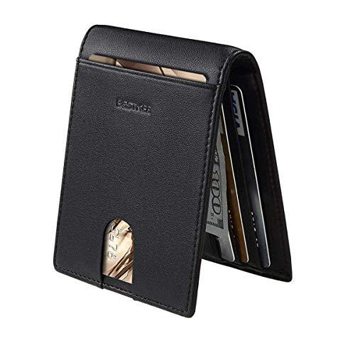 Cartera Hombre RFID Cuero Billetera Tarjetas Crédito...