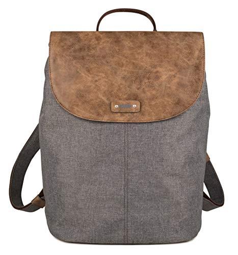 Zwei Damen Tasche O13 Olli, Farbe:stone, Größe:.