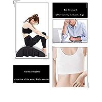 N Pilates Spine Yoga Pilates Spine Corrector, Pilates Cama de Masaje corrección de la deformidad Cervical de Espuma cifosis Corrección aparatos de Ejercicios de Pilates Curvo, Negro Lumbar masajeador