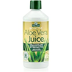 Optima Health Aloe Pura Aloe Vera Juice Maximum Strength Juice 1L