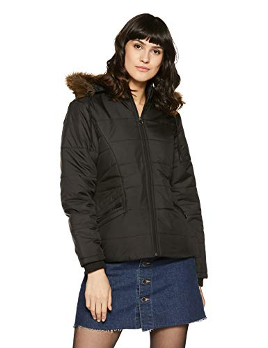 Qube By Fort Collins Women's Cape Jacket (170762_Black_M)