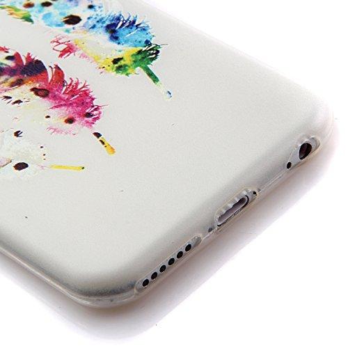 iPhone 4s Hülle Silikon,NSSTAR Soft TPU Schutzhülle für iPhone 4,iPhone 4 Blume Muster Hülle Ultra Slim Perfect Fit Gel Cover Tasche Bunte Kreative Schutz Case Handytasche Handyhüllen Etui Schale Schu 11#,TPU