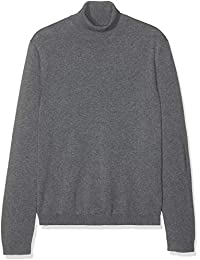 Marca Amazon - find. Wool Mix Dogstooth Abrigor Hombre