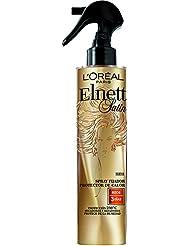 Elnett Satin Laque Fixatrice Protecteur de Chaleur Cheveux Frisés