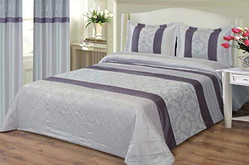 mercatohouse – Couvre-lit bouti Comforter Premium Jacquard 200gr – Netta (lit – 150)