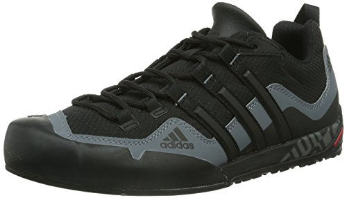 best service 24626 abc1a adidas Originals Adidas Terrex Swift Solo D67031, Zapatilla de Velcro  Unisex Adulto, Negro Black