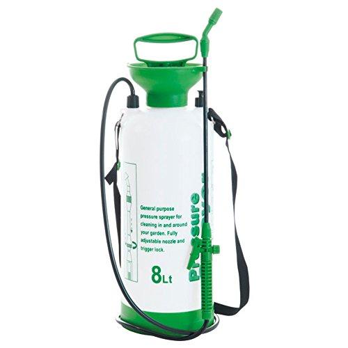 confronta il prezzo VERDELOOK Pompa a pressione Jenny cap.8 L, 18x56.5x18cm, giardinaggio piante giardino miglior prezzo