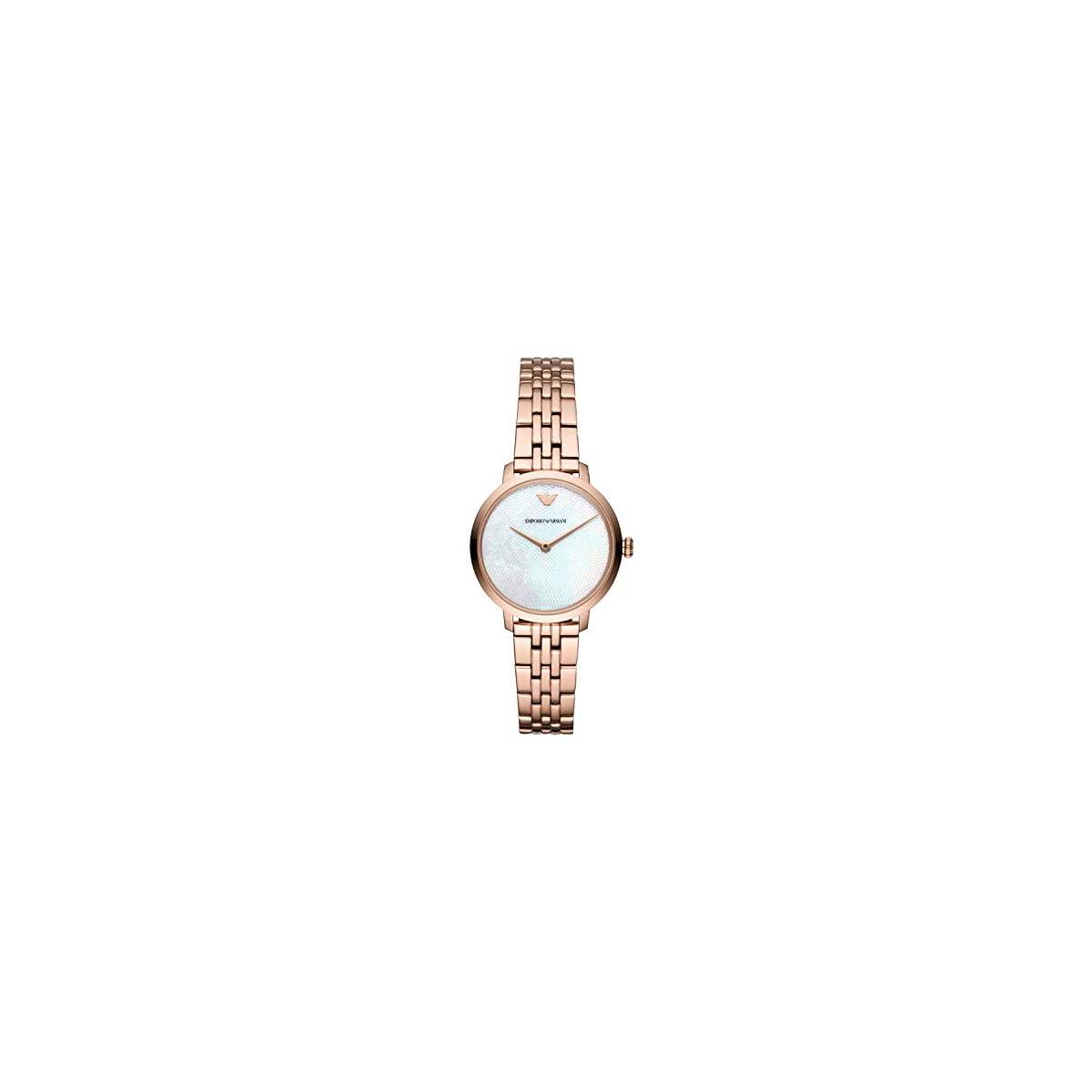 41vx8MLH%2BaL. SS1200  - Emporio Armani Reloj Analógico para Mujer de Cuarzo con Correa en Acero Inoxidable AR11158