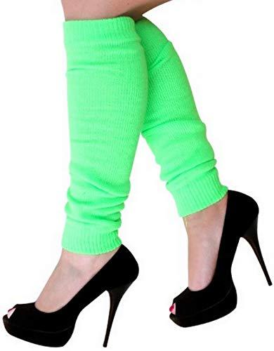 krautwear - Calentadores para mujer, diseño de los años 80, color