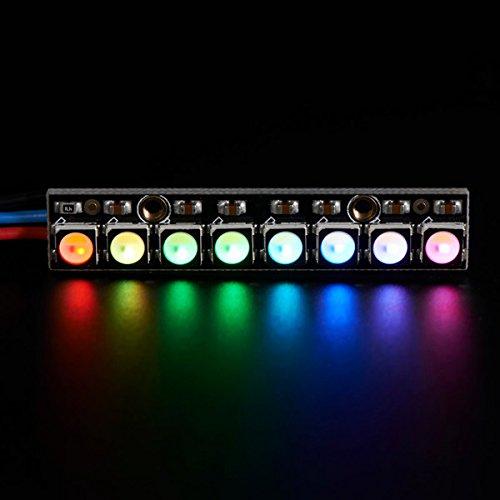 LaDicha Neopixel Straight Board 8X 5050 Rgbw Cool White Led 6000K Mit Integriertem Treibermodul