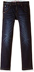 US Polo Association Boys Jeans (UKJN5206_Dark Blue_EES)