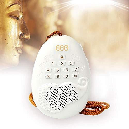 MOGOI Elektronischer Buddhistischer Chanting Player Automatischer Buddha-Betender Spieler Buddha Machine Amituofo Chanting Mit 22 Liedern