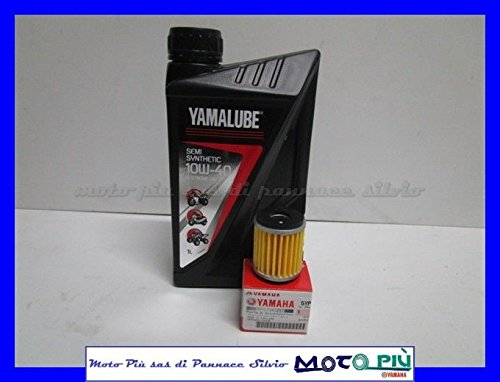 Preisvergleich Produktbild Wartungskit Yamalube 1Liter Öl + Filter für Yamaha WR 125r-x 2009–2014