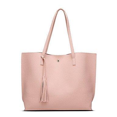Frauen die große Kapazität Quaste Mode und vertraglich vereinbarten Klt Blushing Pink