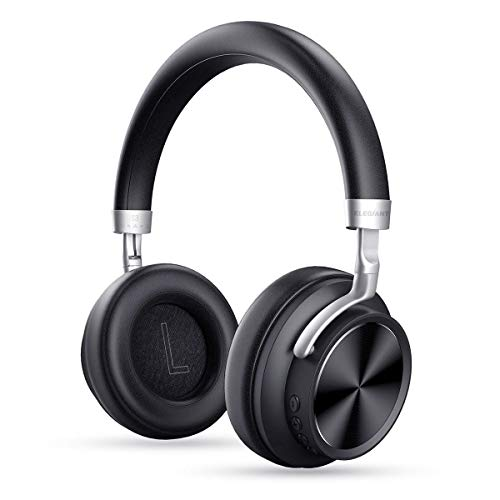 ELEGIANT Bluetooth Over Ear Kopfhörer, Bluetooth 4.1 Stereo Headphone Wireless overear Headset 12h drahtlos Ohrhörer Mic 3.5mm AUX für iPhone X 8 7 6s 6 Plus Samsung S9 S8 S7 S6 HTC LG Huawei Sony