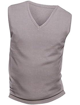 [Patrocinado]SOLS - Jersey sin mangas cuello pico Modelo Gentlemen Unisex hombre mujer