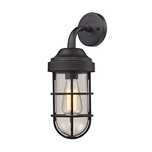 Seaport 1 Light Sconce In Oil Rubbed Bronze -