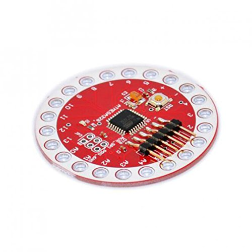 MagiDeal Tragbare Atmega328 Mcu Entwicklungsbrett Für Arduino Lily Pad