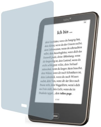 2x ANTIREFLEX matt Schutzfolie für Tolino Vision 1, 2, 3 und 4 HD Premium Displayschutzfolie Bildschirmschutzfolie Display Schutz Glas Schutzhülle Displayschutz Displayfolie Folie