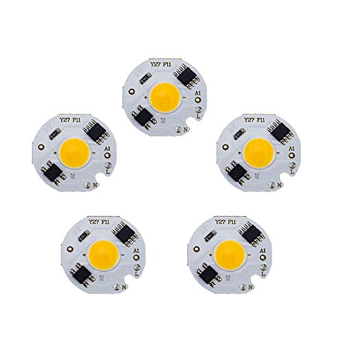 Lepeuxi L-ED White 10W COB Chip Lamp 220V IC Smart