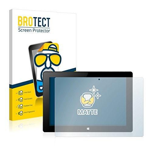 2X BROTECT Matt Bildschirmschutz Schutzfolie für Xoro PAD 10W4 (matt - entspiegelt, Kratzfest, schmutzabweisend)