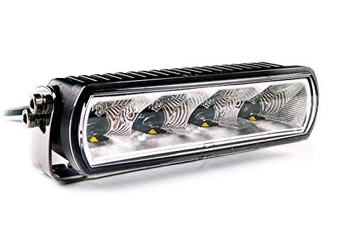 Faro abbagliante LED con omologazione ECE 20 W - Lightpartz faro aggiuntivo Lightbar IP68